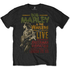 Bob Marley Rastaman Vibration Tour '76 Official Merchandise T-Shirt M/L/XL - Neu