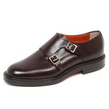 E1228 scarpa uomo brown SANTONI scarpe shoe man