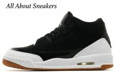 """Jordan Air 3 Retro """"Black-Gold-Gum Brown"""" Trainers All Sizes Limited Stock"""