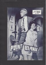 NFP Neues Filmprogramm  4866 Point Blank - Lee Marvin, Angie Dickinson