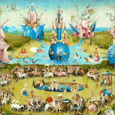 Póster Garden of Earthly Delights, mankind before the Flood (detail) - H. Bosch