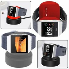 USB Charging Cradle Cable Dock Station Holder Charger Fr Fitbit Ionic Smartwatch