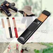 6 Fret Portable Size Pocket Acoustic Guitar Guitar Beginners Practice Tool h@