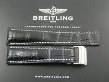 LEATHER WATCH STRAP FOR BREITLING BENTLEY MOTORS NAVITIMER SUPER AVENGER  24mm
