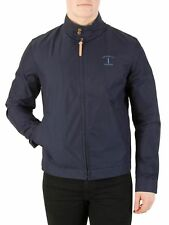Hackett London Hombre Mr Classic Harrington Jacket, Azul