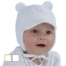 BRAND NEW AUTUMN/SPRING SOFT TIED HAT WITH CUTE APPLICATION FOR BOY/TODDLER/BABY