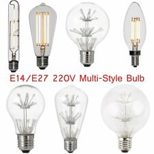 Multi-Type Super Bright Dimmable E14 E27 LED Light Globe Bulb Energy Saving FC