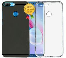 Value Combo Of Soft Rubberised Back Case Cover For Huawei Honor 9 Lite