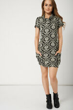 WINTER FASHION SHORT SLEEVE DRESS WITH FRONT POCKETS - Sizes XS,S