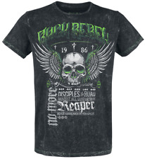 Rock Rebel by EMP Rebel Soul T-Shirt grigio scuro