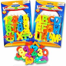 (2 Pack) Magnetic Learning Letters and Numbers, Total 52 Piece Set ((NEW)) F&F