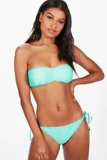 Boohoo Belize Mix and Match Tie Side Brief per Donna