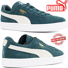 New Puma Suede Classic+ Mens Sports Casual Lace up Trainer Shoes rrp £75 On Sale