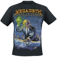 Megadeth Rust In Peace (Anniversary) T-Shirt nero