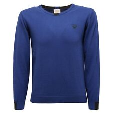 3301V maglione bimbo ARMANI JUNIOR cotone lana sweater boy kid