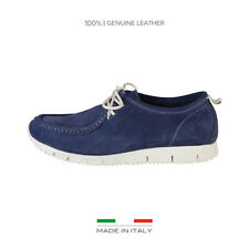 Chaussures à lacets Made in Italia - FABRIZIO Homme Bleu