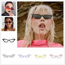 Women Cat Eye Sunglasses UV400 PC Frame Resin Lens Travel Eyewear Glasses RA