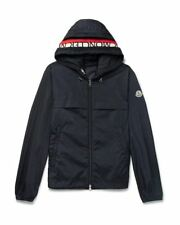 New SS18 Moncler 'GRADIGNAN' Double Hooded Technical Jacket - Navy