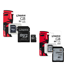 KINGSTON SD / MICRO SD MEMORY CARDS FOR MOBILE PHONE OR CAMERA CHOOSE SIZE/TYPE