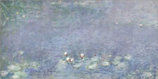 Póster Waterlilies, Morning 2 - Claude Monet