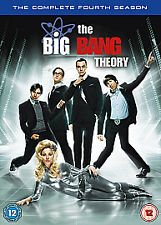 The Big Bang Theory - Series 4 - Complete (DVD, 2011, 3-Disc Set)