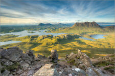 Cuadro sobre lienzo View from Stac Pollaidh in Scotland - Michael Valjak
