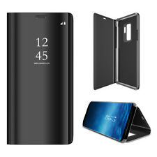 Samsung Galaxy S9 Flip Case Schutzhülle Clear View Cover Unifarben