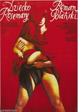 73472 ROSEMARYS BABY Movie Satanic Exorcist Polish Art Wall Print Poster Affiche