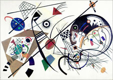 Cuadro de madera Continuous Line - Wassily Kandinsky