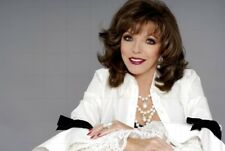"""JOAN COLLINS - 12"""" x 8"""" Colour Photograph From Photo Shoot 2005"""