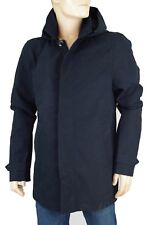 SCOTCH & SODA Parka Trench bleu marine homme Classic Hooded parka taille XXL
