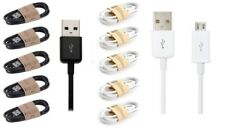 Micro USB Charger Data Sync 1m Cable for Mobile Phone Tablets Samsung 2 Colours