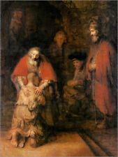 Cuadro sobre lienzo Return of the Prodigal Son - Rembrandt van Rijn