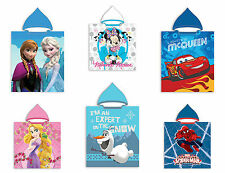Poncho toalla de Playa Con Capucha Frozen Princesa Minnie Cars Spiderman 50 x