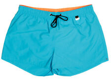 HOM - Playa Shorts-Splash-Bañador-Turquesa