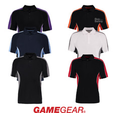 GAMEGEAR ACTIVE POLO COLLETTO BOTTONI ALLA MODA SPORT Squadra Golf Workout Uomo