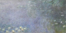 Póster Waterlilies, Morning 3 - Claude Monet