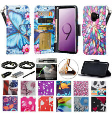 "for 5.8"" Samsung Galaxy S9 Case Wallet Fold Kick stand Pouch Purse Flip Cover +"