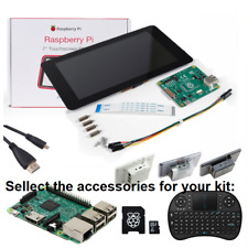 "Raspberry Pi 3 Touch Screen Display 7"" LCD Kit for Pi B+, 2, & Pi 3 B+ Plus"