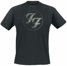Foo Fighters Logo In Circle T-Shirt nero