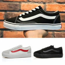 Classic Low Top Suede Trainer Casual Canvas Sneakers MENS WOMENS Shoes