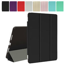 Smart Cover Magnetica + Back Case per Apple iPad 2/3/4/5 Mini Air Pro Custodie