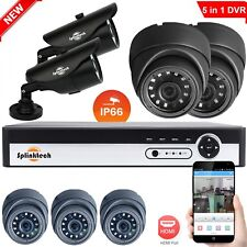 CCTV DVR Camera Security HD System 1080P Outdoor Video HDMI 4CH 1080N Home Cam