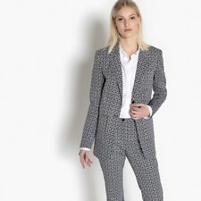 La Redoute Collections Donna Giacca Tailleur Fantasia Geometrica