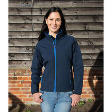 RESULT Core Mujer Imprimible Chaqueta Softshell impermeables para mujer elegante