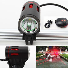 LED XM-L L2 LED Front Bicycle Bike Rechargeable Head Light Torch Headlight UK