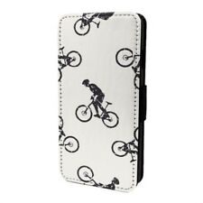 Ciclismo Bici estampado Funda libro para Apple iPod - S6640