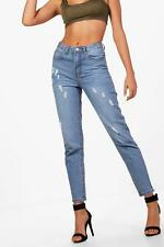 Boohoo Sophie High Rise Mom Jeans para Mujer