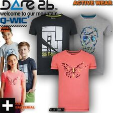 Dare2b Camiseta Infantil Ensemble Moto Deporte Corrientes Playing Verano Top