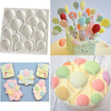 Decorating  Cake Sugarcraft Balloons Silicone Fondant Mold Chocolate 1 Pcs